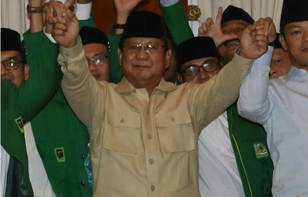 Prabowo Memprediksikan Indonesia Akan Punah Jika Ia Kalah Di Pilpres 2019