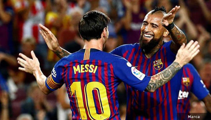 Arturo Vidal Merasa Dicurangi Barcelona