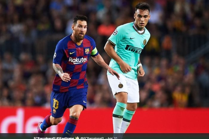 Barcelona Binggung Soal Transfer Lautaro Martinez
